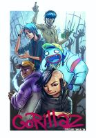 Gorillaz 2014 by cryoclaire