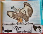 Asian White-backed Vulture - Animal of Sept. 2014 by MoonyMina