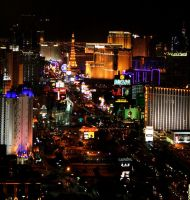 Vegas lights by UniqueNudes
