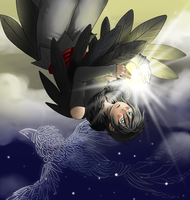 The Raven the Stole the Light by ocelot-girl