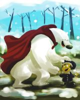 Herobear and the Kid by galgard