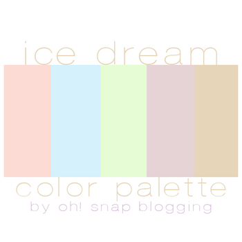 Ice Dream Palette by saraaphotos