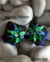 Polymer Clay Beads B359 by snowskin
