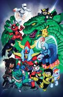 2014 Amazing Houston Con Exclusive Print by ElfSong-Mat