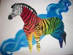 Zebra of a Different Color by art-siren717