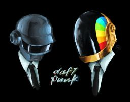 Daft Punk by Tysirr