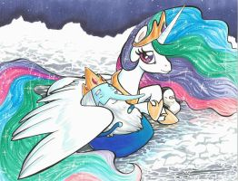 Ice King Pony Princess by lizspit