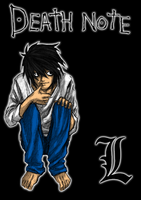 Death Note - The Original L by sinDRAWS