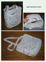 plastic bag crochet by toia