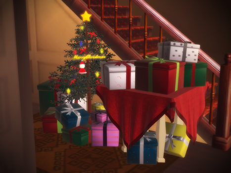 [MMD Accessory Download] Christmas Presents by xEmmaUchiha