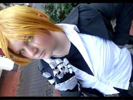 Edward Elric Cosplay After Fight by Moin2D
