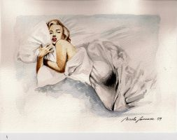 Marilyn by nicolasammarco