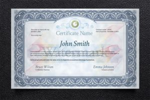 Free Certificate Template by Pixeden