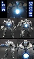 Light up Iron Monger by Jin-Saotome