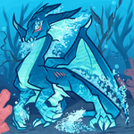 Water Dragon, Blue Dragon Elemental by Dragoart