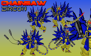 Neo Genesis Oblivion - Chainsaw Zircon Bio by Burninggodzillalord
