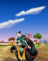 MULAN by burch00