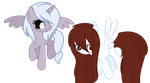 Maneswap-Speechless Shadow and Juliette by xx-Chanour