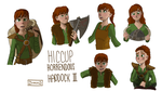 Fem Hiccup reference sheet 1 by DianaGJ