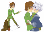.CrossOver: Drunk!Hiccup. by Kikuri-Tan