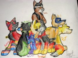 My Pack by MasterDoggeh