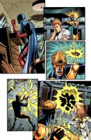 Booster Gold 13 pg 15 by ChrisSummersArts