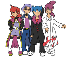The Galactic Rock Squad by vsyoravno