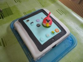 iPad Cake by WackoStarla