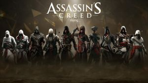 Assassin's Creed HD wallpaper 3 by teaD by santap555