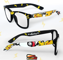 Pikachu Pokemon glasses by Ketchupize
