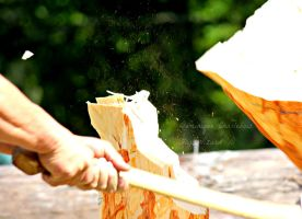 Wood Chopping by FlyteWizard