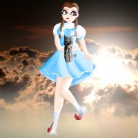 Dorothy in the clouds by KorianderBullard