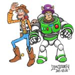 One-piece-toy-story-crossover by zenzmurfy