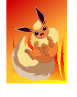 Cuddly Flareon by Rmage76