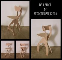 Bar Stool by rebootmaster2001