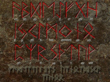 Old Norse Runes by Fagertveit