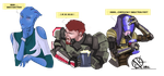 Mass effect 3 Bar by Murushierago101