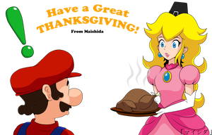 Mario's Thanksgiving Day by Maishida