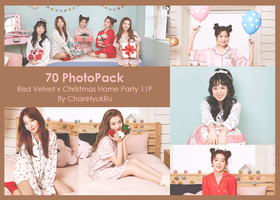 70 / Red Velvet x Christmas  Home Party PhotoPack by ChanHyukRu