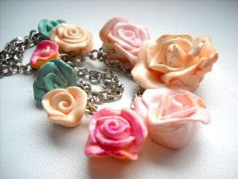 rosy necklace 2 by oneColouredRainbow