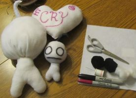 Stuffed cry XD by CrazyGirl16LovesYou