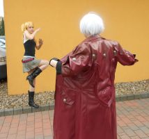 Devil May Cry - Dante - OMG...! No clothes! by Mada-Chan2009