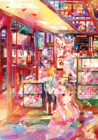 A Random Sweets Shop is a Happy Sweets Shop by Milchiah