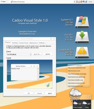 Cadoo Visual Style 1.0 by icube001