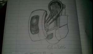 GLaDOS by Hakues-sparkle-dream