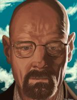 Walter white by ulquiorravastolorde
