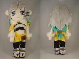 Final Fantasy Selkie plush by pandari