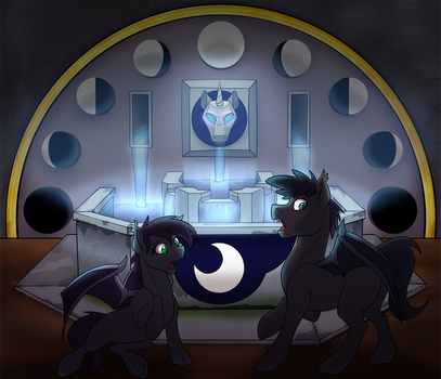 Batpony TF + TF/TG Commish 5/5 by tf-sential