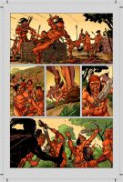 Turok Tryout Pg. 2 by michael-e-wiggam