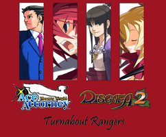 Turnabout Rangers cover by Cybertoy00
